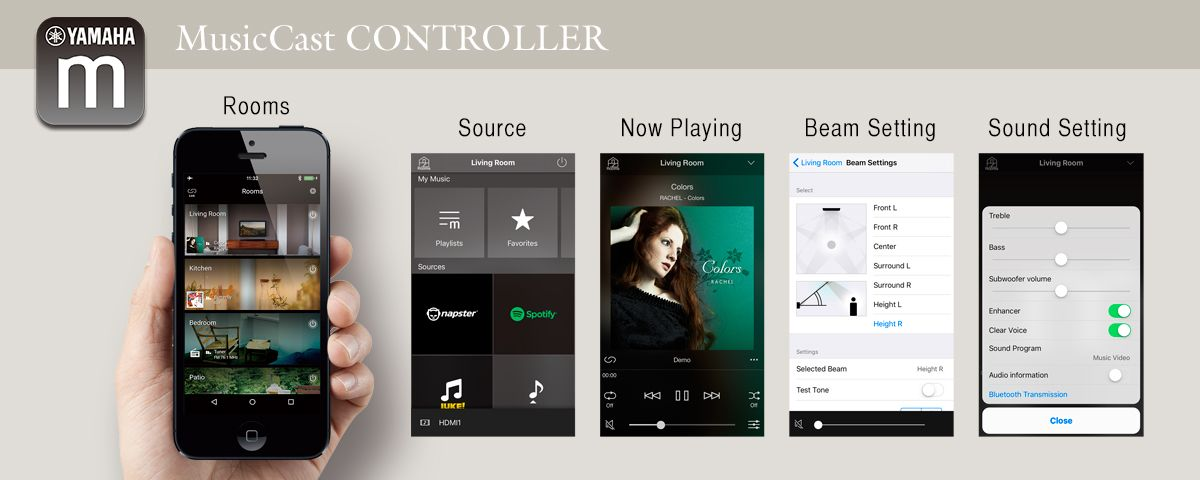 Control App for Easy Operations
