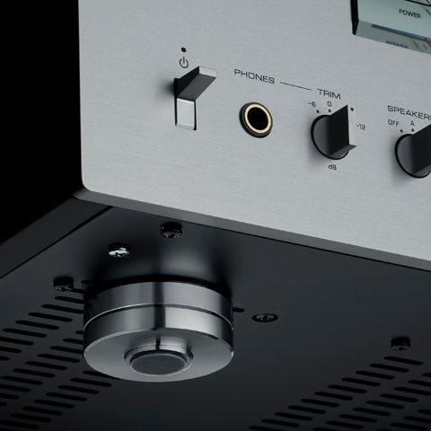 Yamaha A-S3200 Integrated Amplifier Ft03-02-Silver-Plating-Brass-Feet_5bf323c07a6a5d9258e58dba0acd4def
