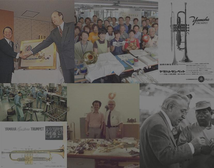 History of Yamaha Wind Instruments
